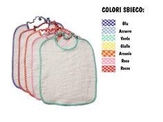 Set Asilo Risparmio, pacchetti da 5 bavaglini e da 3 asciugamani, disponibili in colore bianco con bordo a quadretti colorati, oppure disponibili anche tutti colorati. Li trovi qui: http://www.coccobaby.com/news/1461/set-asilo-risparmio,-pacchetti-da-5-bavaglini-e-da-3-asciugamani
