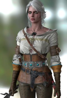 The Witcher 3 Wild Hunt Ciri test by on DeviantArt Witcher 3 Art, The Witcher Game, The Witcher Geralt, Witcher 3 Wild Hunt, Juegos Ps2, Renaissance Fair Costume, Female Armor, Knight Art, Super Moon