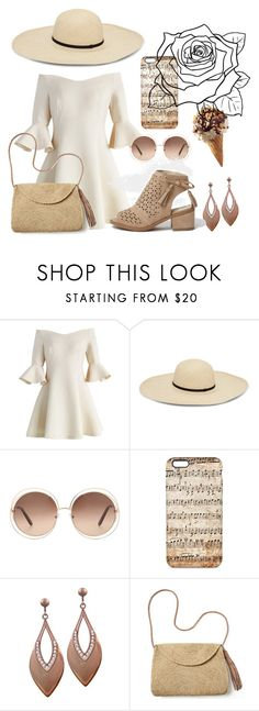 """Captivating tenderness"" by netapples on Polyvore featuring мода, Chicwish, Chloé и Mar y Sol"
