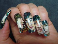 This link has some of the coolest nail art around.