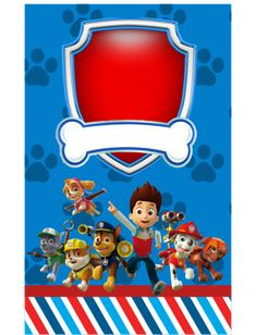 Paw Patrol Cake, Paw Patrol Party, Escudo Paw Patrol, Teacher Prayer, Paw Patrol Decorations, Cumple Paw Patrol, Paw Patrol Invitations, Monster 1st Birthdays, Christmas Baby