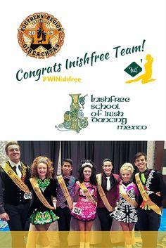 #WINishfree     Congratulations to Bailey Quigley, Francisco Lemus, Sergio Tellez and all #SRO2015 champions!!  #Dallas  #TeamInishfree  #Inishfree School of #IrishDancing  #InishfreeMexico  #taniamartinez  #IrishDancer   Photo Cred: IDTANA-Southern Region   #academia de #DanzaIrlandesa ✨ #InishfreeToluca  #InishfreePedregal  #InishfreeTeam ✨ #Danza #Dance #SoftShoes #Feis