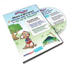 JumpSport® RompyRoo Where is Mr. Fuzzy? DVD Trilingual w/hardcase