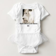 Make Black lives Better Baby clothing Baby Bodysuit - baby gifts child new born gift idea diy cyo special unique design