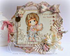 My honey Magnolia: I give you my heart!