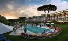 Relais  Châteaux 60's birthday at Gallia Palace, Italy. #relaischateaux60