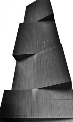 Black tower of squares.
