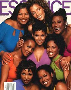Queen Latifah, Michael Michele, Loretta Devine, Vivica A. Halle Berry, Black Power, Black Girls Rock, Black Girl Magic, Black Celebrities, Celebs, Beautiful Celebrities, Michael Michele, Meagan Good