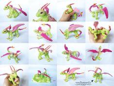 BJD Dragon - Minty by vonBorowsky