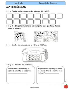evaluacion de matematicAS para jardin - Buscar con Google Word Search, Victoria, Words, Google, Preschool Math, 1st Grades, School, Horse