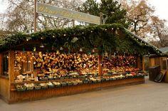 Christmas markets, Vienna, Austria