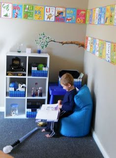 Adventures at home with Mum: Chill out corner - Positive Time Out