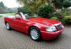 Mid-Nineties time warp #Mercedes #SL500 up for auction