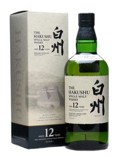 I just had this for the first time at Bamboo Izakaya in Portland. Hoping to pick some up this weekend. Hakushu 12 Year Single Malt Japanese Whisky.  http://bambooizakaya.com/