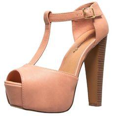 Breckelles Brina-21 Platform Sandals
