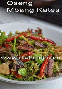 Diah Didi's Kitchen: Oseng Bunga Pepaya