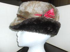 Mens Vintage Hats Mens Winter Hat Mens Accessories Mens Hats Russian Hats Vintage Accessories Faux Fur Ear Flap Hat Trapper Hat Alpine Hats by ZasuVintage on Etsy