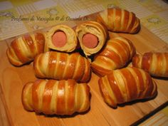 Pigs in blankets – Wurstel ricoperti