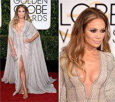 Golden Globe 2015: Jennifer Lopez - Fashionismo