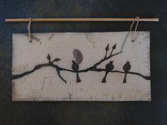 raku oiseaux tableau 6