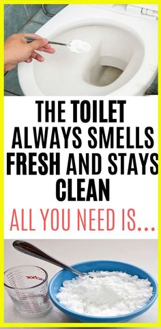 The Toilet Always Smells Fresh And Stays Clean. All You Need Is This - Cleaning the toilet is one of the most unpleasant chores that despite not like doing them, we have - Cleaning Agent, Household Cleaning Tips, Toilet Cleaning, House Cleaning Tips, Cleaning Hacks, Cleaning Products, Cleaning Recipes, Bathroom Cleaning, Bathroom Hacks