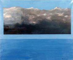 Mikael Stierncreutz: Cloud IV, 1968 Maynard Dixon, Surrealism, Clouds, Landscape, American, Painting, Outdoor, Art, Outdoors
