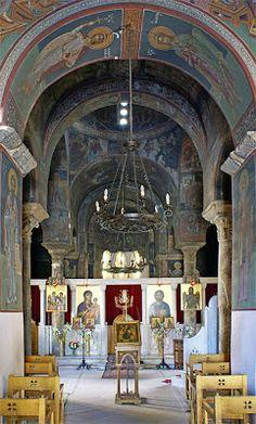 Πνευματικοί Λόγοι: Το καθολικό της μονής Πετράκη Αθηνών