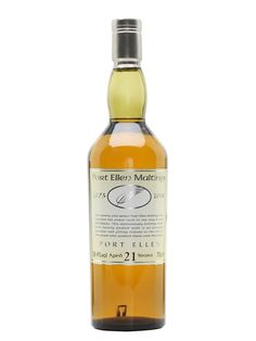 Port Ellen 21 Year Old / 25th Anniversary Maltings Scotch Whisky : The Whisky Exchange