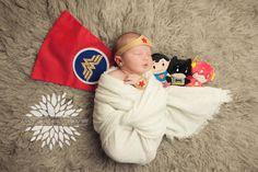 Wonder Woman newborn photography NY