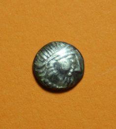 Celtic silver coin.0,8gr Silver Coins, Celtic, Silver Quarters