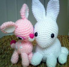 My Baby Snow Bunny! | Curly Girl's Crochet Etc.