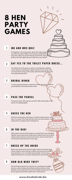 10 Fab Hen Party Games ideas you will love ~ KISS THE BRIDE MAGAZINE Plan the perfect hen or bachelorette party with these fabulous fun hen party games ideas. Perfect for a DIY hen party where your trying to entertain mixed age groups. Bachlorette Party, Bachelorette Party Decorations, Bachelorette Weekend, Bachelorette Party Invites, Bachelorette Party Pictures, Bachelorette Ideas, Bridal Party Games, Wedding Games, Bridal Shower Games