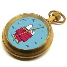 vintage-original-art-snoopy-woodstock-peanuts-comic-art-collage-pocket-watch-w-swiss-17-jewel-movement.jpg (250×250)