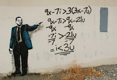 street art meets contemporary social media culture (this equation for 1<3u