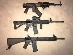 1966 Tula AK-47 magpie Midwest industries knights armament Spikes Tactical ST-15 Bravo Company Aimpoint Comp ML3 YHM MATec Sparks build Laure Tactical Knights Magpul Troy Industries BCM