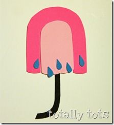 U is for Umbrella Craft {Totally Tots}