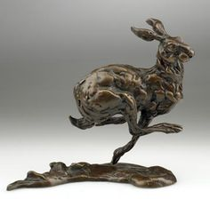 """Bunched Hare"" by Lucy Kinsella"