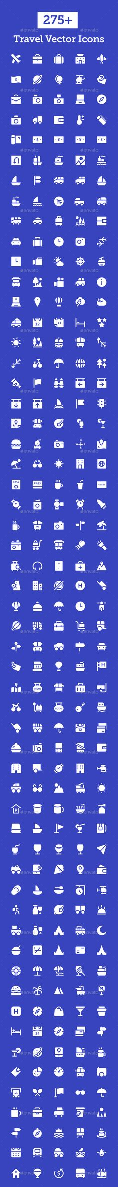275+ Travel Vector Icons