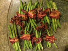facon-wrapped string beans {the kosher foodies} #kosher #bacon