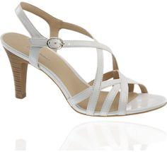 Fehér szandál - 1240405 - deichmann.com Sandals, Shoes, Fashion, Moda, Shoes Sandals, Zapatos, Shoes Outlet, Fashion Styles, Shoe