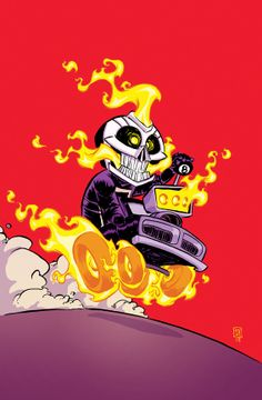 Ghost Rider #1 Variant by Skottie Young