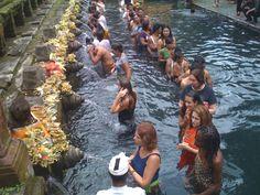 Water ceremony  Bali