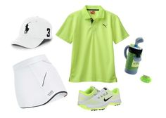 """golfwear"" by mayang-muchtar on Polyvore featuring Polo Ralph Lauren, Gund, Nike Golf, Gore Bike Wear, Chaps, sportystyle and golfwear"
