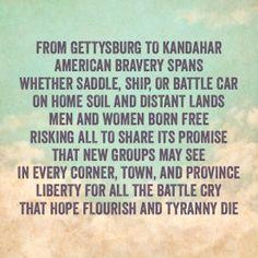 Memorial Day Liberty Poem