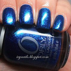 Icy Nails: Swatchity-Swatch: Orly Stone Cold