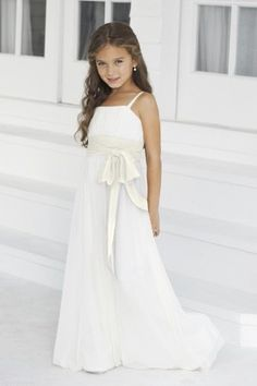 Wedding Dresses, Bridesmaid Dresses, Prom Dresses and Bridal Dresses Alexia Junior Bridesmaid Dresses - Style - Alexia Junior Bridesmaid Dresses, Spring Junior version of style Bella chiffon bridesmaids gown with contrasting band. Girls Bridesmaid Dresses, Bridal Dresses, Prom Dresses, Junior Bridesmaids, Girls Dresses, Best Bridal Prices, Nice Dresses, Flower Girl Dresses, Girls Party Dress
