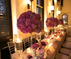 Centerpieces High | Bride & Blossom