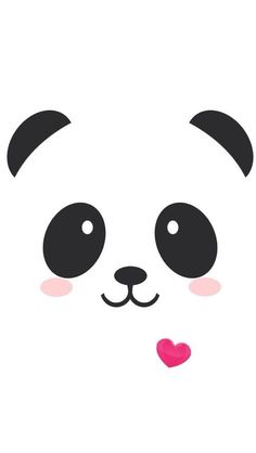 Panda kawaii iPhone wallpaper cute- another one for Danae Varela - Bilder - Hintergrundbilder Niedlicher Panda, Cartoon Panda, Panda Emoji, Panda Kawaii, Panda Bears, Panda Wallpapers, Cute Wallpapers, Iphone Wallpapers, Cute Backgrounds