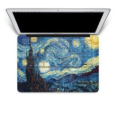 flower macbook keyboard decal laptop keyboard by youyoudecal, $18.99