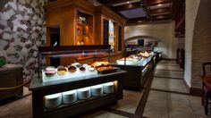 The 'Taste of Norway' koltbordt buffet featuring deli meats, cheeses, salads and seafood